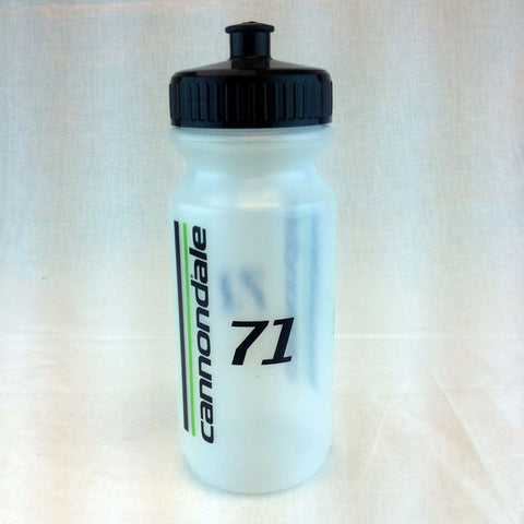 Cannondale 71 Waterbottle Clear/Green/Black 16oz