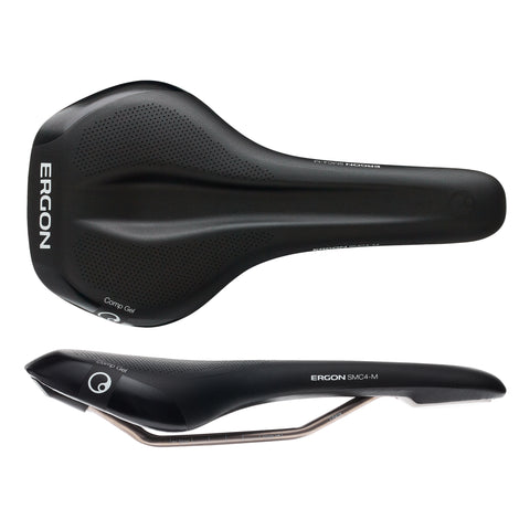 Ergon SMC4 Comp Gel saddle, medium - black