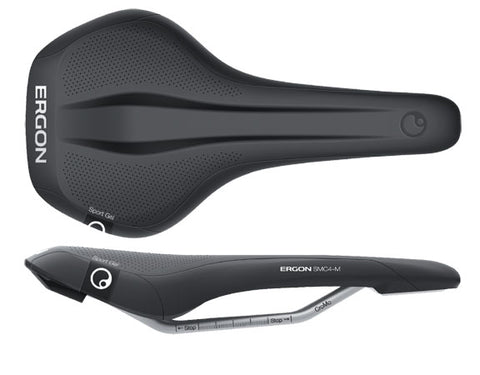 Ergon SMC4 Sport Gel saddle, medium - black