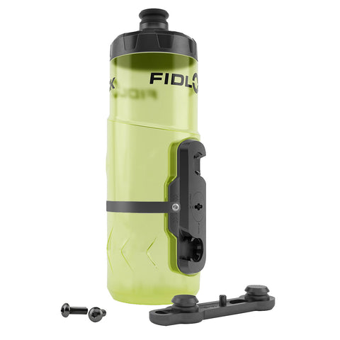 Fidlock BottleTwist Water Bottle w/Overmold, 20oz - Yellow