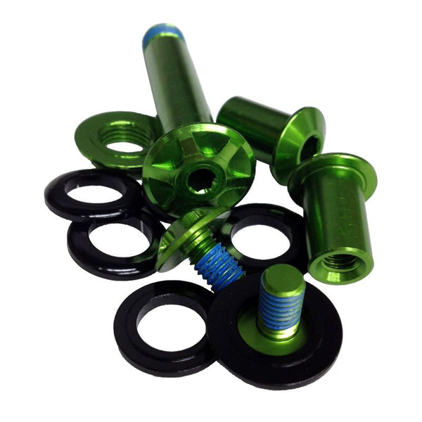Cannondale Scalpel 80mm Shock Link Hardware - Green - KP168/GRN