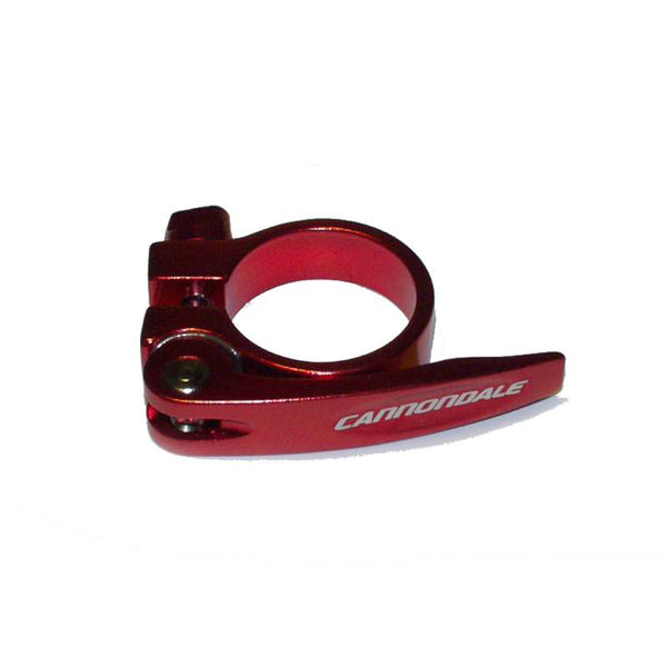 Cannondale Quick Release Seatpost Clamp Seatbinder 34.9mm - KP170/RED