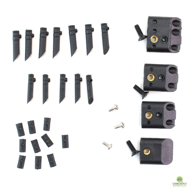 Cannondale Cable Guide Port Jeffy Guide Set for Scalpel Si, Jekyll, Trigger, Bad Boy - KP436/