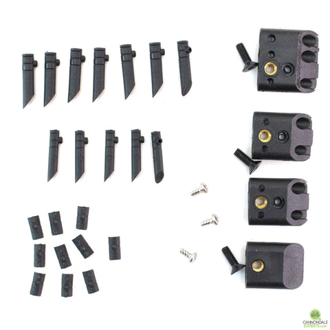 Cannondale Cable Guide Port Jeffy Guide Set for Scalpel Si, Jekyll, Trigger, Bad