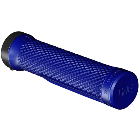 OneUp Components Lock-On Bike Grips, Blue