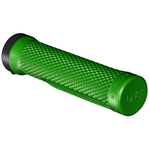 OneUp Components Lock-On Bike Grips, Green