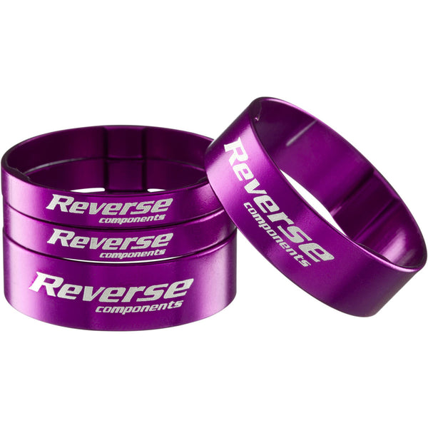 Reverse Ultralight Headset Spacer Set, Set/4, Purple