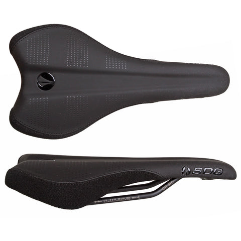 SDG Radar Mtn Saddle, CrMo Rails - Black