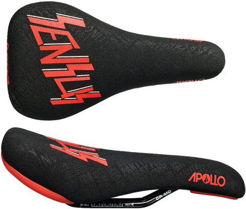 SDG Apollo RL C.Zink Sensus saddle, Cro-Mo rail - blk/red