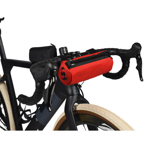 Speedsleev Diego Handlebar Bag, Small - Red