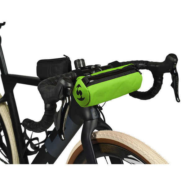 Speedsleev Diego Handlebar Bag, Small - Green