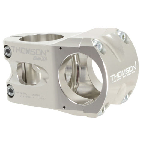 Thomson X4 Mtn stem, (31.8) 0d x 40mm - silver