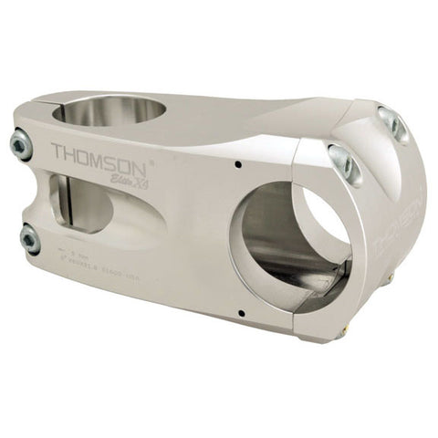 Thomson X4 Mtn stem, (31.8) 10d x 80mm - silver