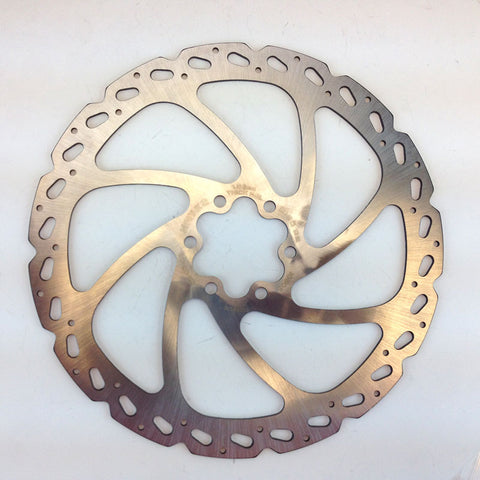 Hayes V7 180mm Bicycle Disc Brake Rotor - No Bolts