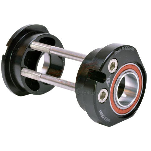 Wheels Mfg PF30 EBB, 24/22mm GXP angular contact, black