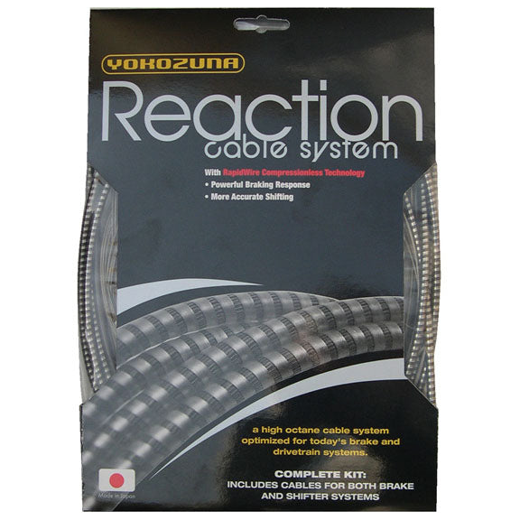Yokozuna Reaction Cable/Casing Kit, Der/Brake, Rd/Mtn - Smoke