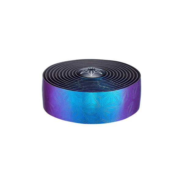 Supacaz Bling Bar Tape with Silicone Gel, Oil Slick