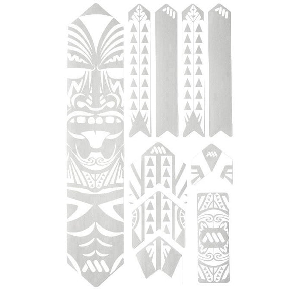 All Mountain Style Honeycomb Frame Guard XL, Maori/White