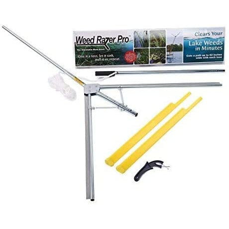 Weed Razer™ Pro Lake & Pond Aquatic Weed Cutter