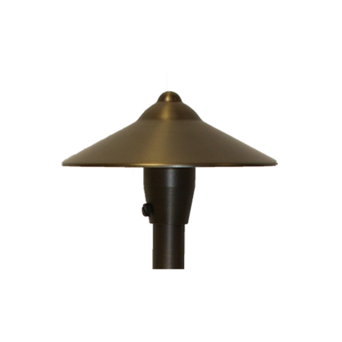 Brass Path/Area Light Hat