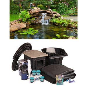Crystal Falls Complete Pond Kit