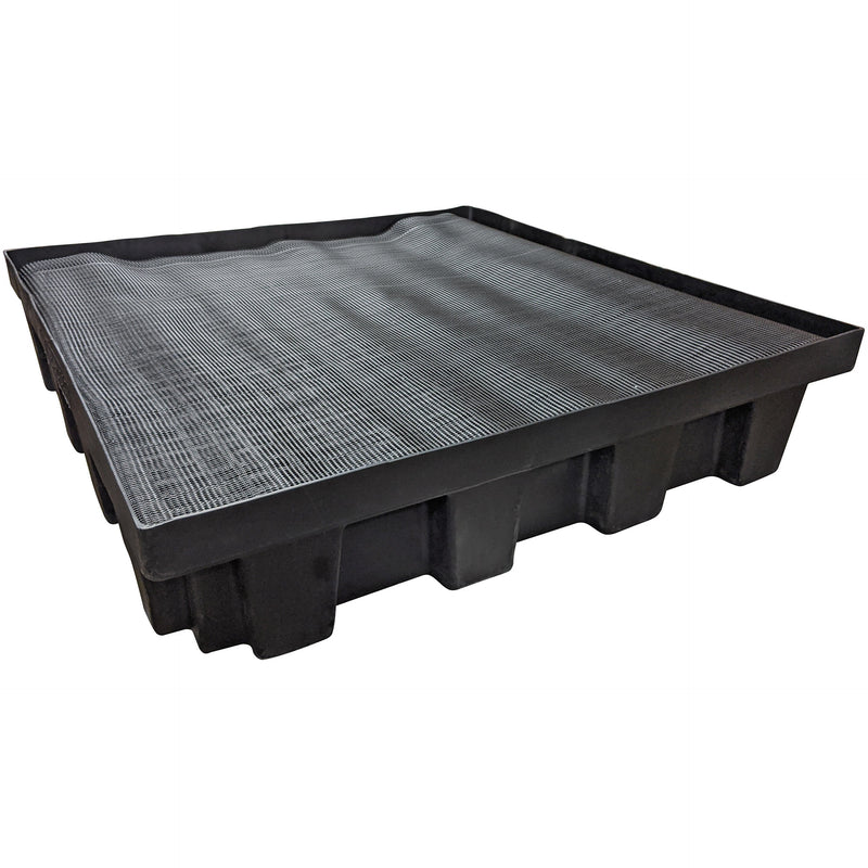 LA 4x4 Shallow Basin with screen & grate