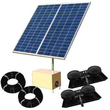 OWS AerMaster Direct Drive SOLAR 3 Aeration(2 Diffuser System ponds < 12')