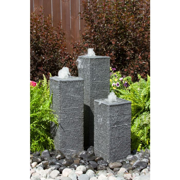 Square Chiseled Towers Kit