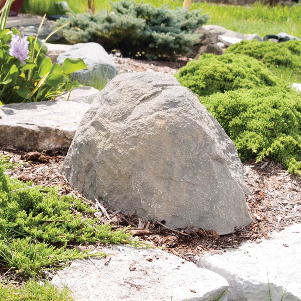 "CrystalClear® TrueRock™ Large Boulder Covers 33""L x 24""W x 20""H"