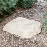 "CrystalClear® TrueRock™ Faux Small Flat Covers 30""L x 23""W x 3""H"