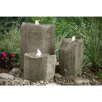 Bird Bath Triple Fountain Kit