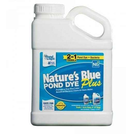 Natures Blue Pond Dye Plus Bacteria - PondSupply.CA