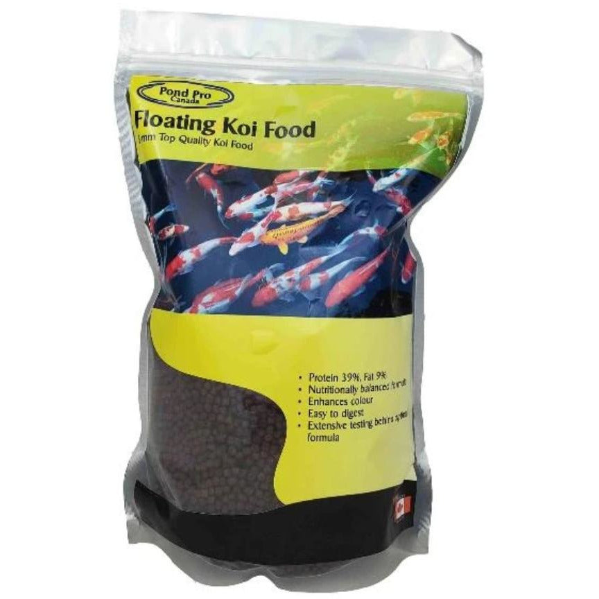 Pond Pro Premium Floating Koi Food - PondSupply.CA