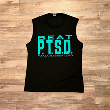 Load image into Gallery viewer, Beat PTSD Muscle Tank - Men's