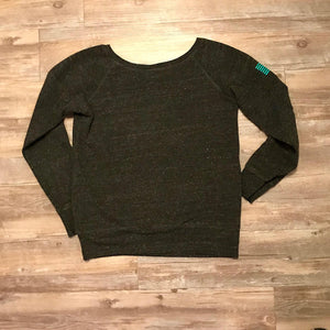 Off the Shoulder Sweatshirt - Women's