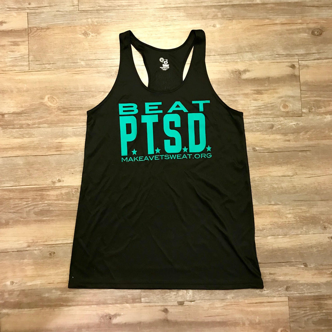 Beat PTSD Tank - Women's