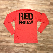 Load image into Gallery viewer, RED Friday Long Sleeve T-Shirt
