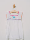 Little Chiapas Dress/Shirt (Size 2) - Handmade, Embroidered Mexican Little Girl Dress - Chokolita