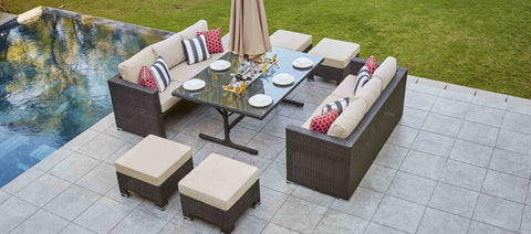 Sofa Dining Set (3+3+4 seaters)