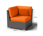 BALI L Shape Sofa Set (6+1 seaters)