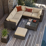 SOHO L Shape Sofa Set (5+1 seaters)