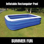 Inflatable Rectangle Pool