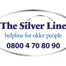 A picture of The Silver Line Charity logo