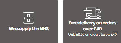 Ability Superstore supply mobility aids to the NHS and free delivery on all orders over £40