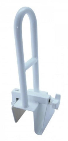A link to the Clamp-on Bath Safety Grab Rail that's available for sale on the Ability Superstore website