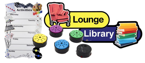 Various dementia friendly objects that are for sale on the Ability Superstore website