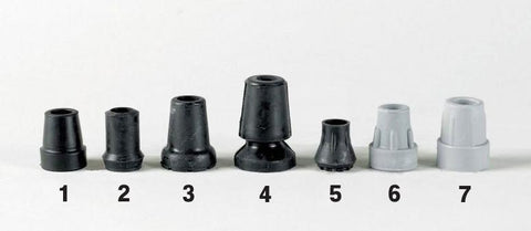 the images shows the seven types of ferrules described below