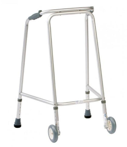 The Wheeled Walking Zimmer Frame that's available for sale on the Ability Superstore website