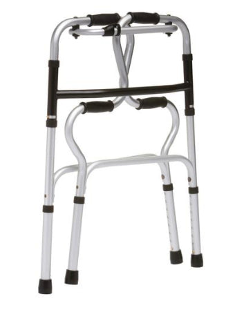 The Drive Easy Rise Foldable Walking Frame – folded