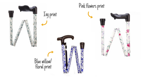 patterned walking sticks now on sale